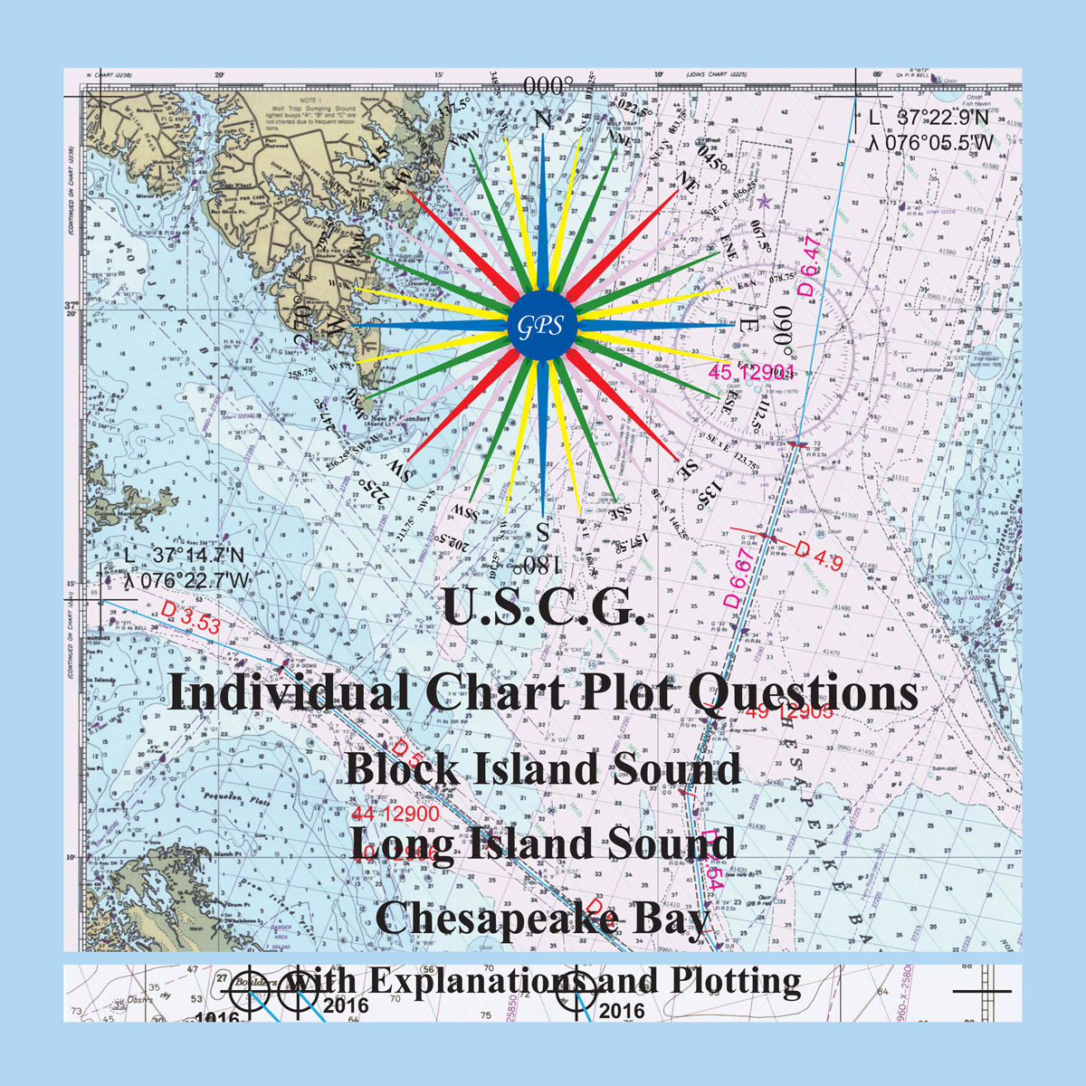 U.S.C.G. Individual Question Chart Plots Cover Laurie