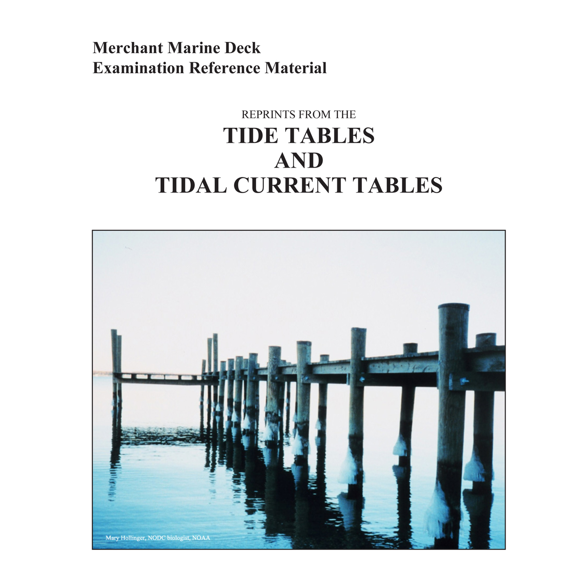 Square Tide & Tidal Current Tables Cover